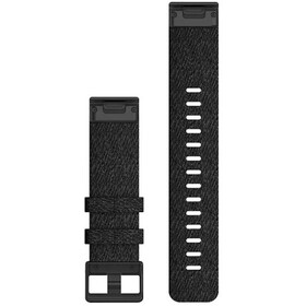 Garmin QuickFit Bracelet de montre en nylon 22mm pour Fenix 6, black